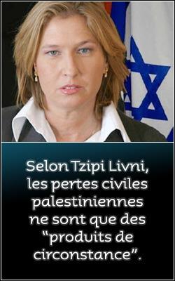 tzipi_livni_pertes_civiles_palestiniennes
