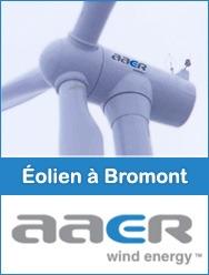 L'éolien à Bromont avec AAER