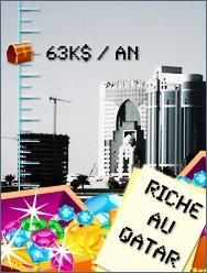 Riche au Qatar