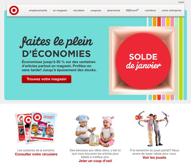 page-web-de-target-le-jour-de-l-annonce-de-la-fermeture-des-133-magasins-au-canada