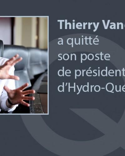 Départs à la tête d'Hydro-Québec
