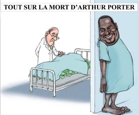 Arthur Porter est-il vraiment mort, au Panama?