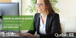Le gouvernement du Québec recherche des employés