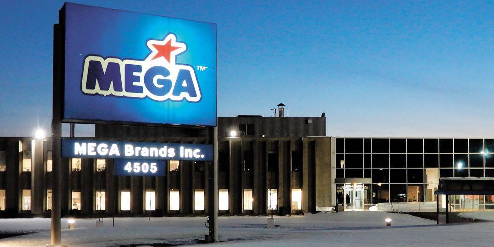Usine de Mega Brands à St-Laurent